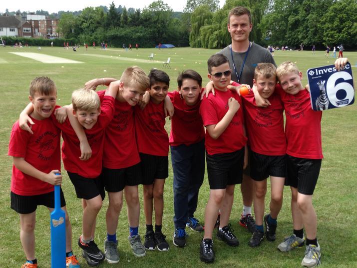 Kwik Cricket team