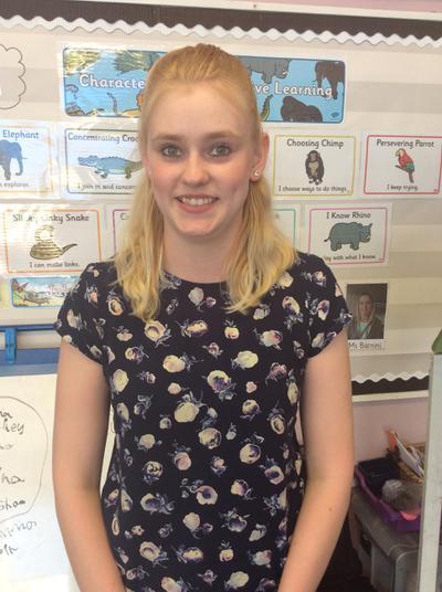 Miss Hayley Collins - Nursery Nurse