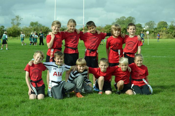 Tag Rugby team