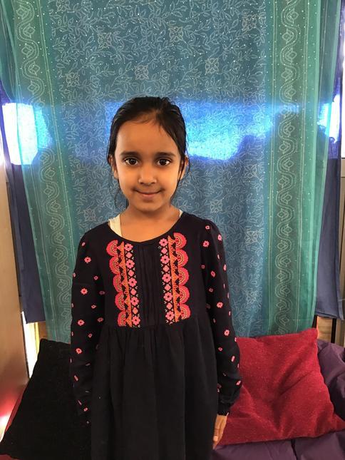 Hello I am Fatima. I want to be a teacher.