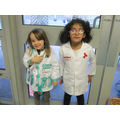 Gracie and Inayah would like to be doctors.
