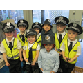 There were lots of police officers in Foundation B