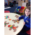 Counting and matching buttons!
