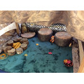 Role-play area-The Gruffalo's cave