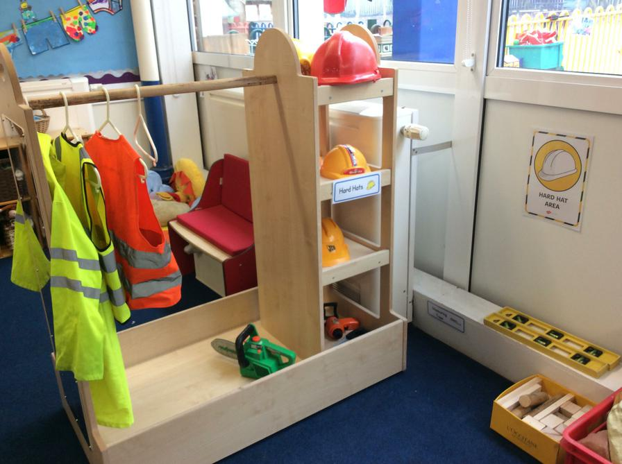 Building site role-play area