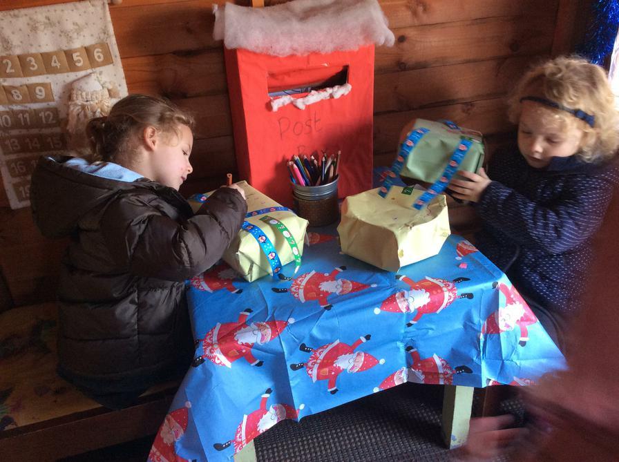 Santa's little helpers!