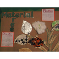 We also covered leaves in fabric, plastic and foil