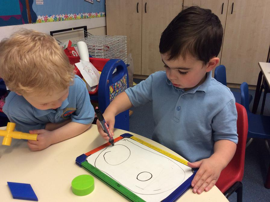 Copying shapes