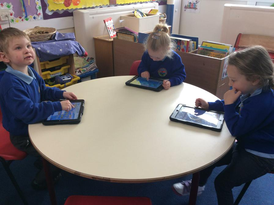 Counting games on IPads
