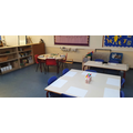 Our art, mark making, modelling area
