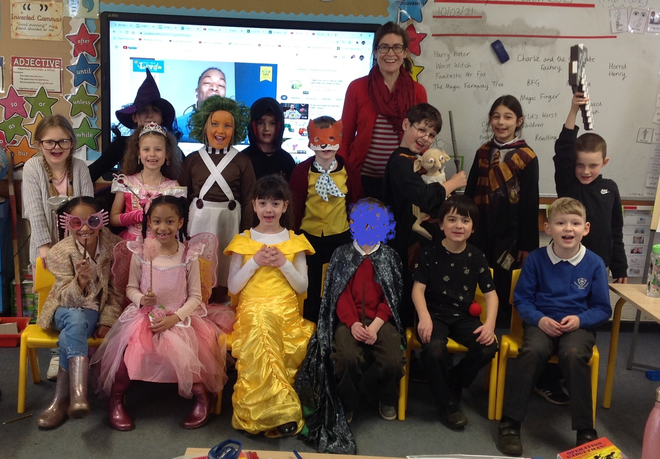 We had a really wide variety of characters for World Book Day 2021!