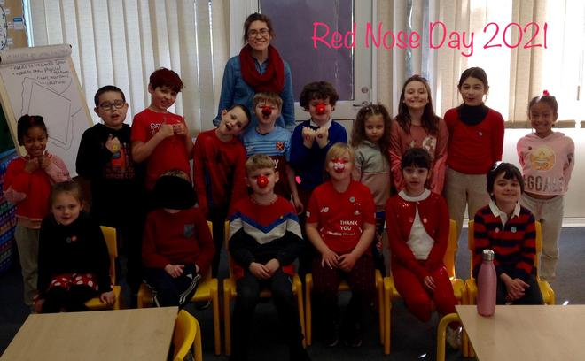 Well done everyone for raising some money for Comic Relief this year!