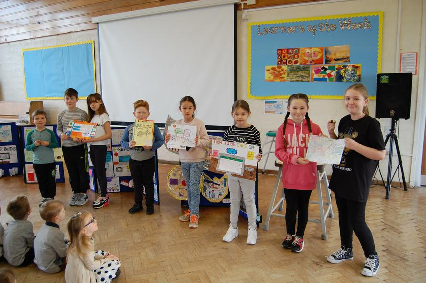Winners of the Design a poster competition