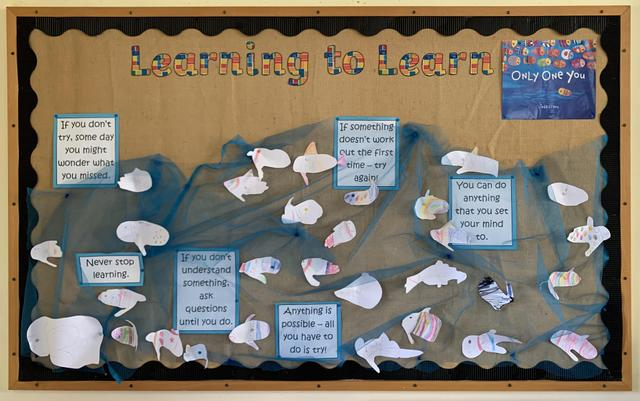 Ash Class 'Learning to Learn' display.
