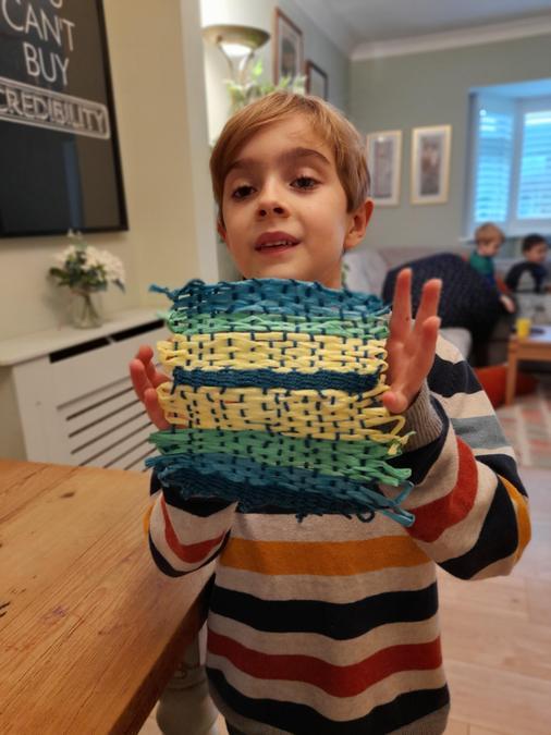 Freddie's weaving