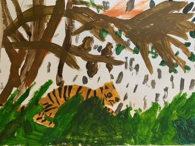 Zeena's tiger