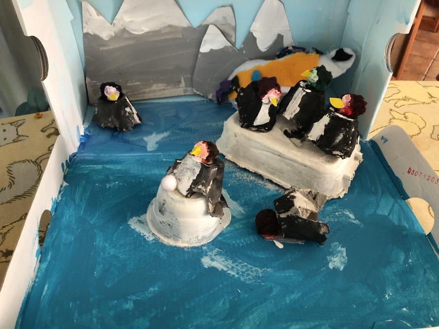Polar diorama complete!