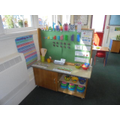 This is the maths area. Do you like Number blocks? We do!!