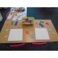 Explore the numicon and practise your counting.