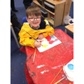 Painting our own Mondrain pictures