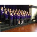Year 2 choir