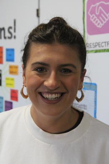 Miss Crerand, Reception Teacher
