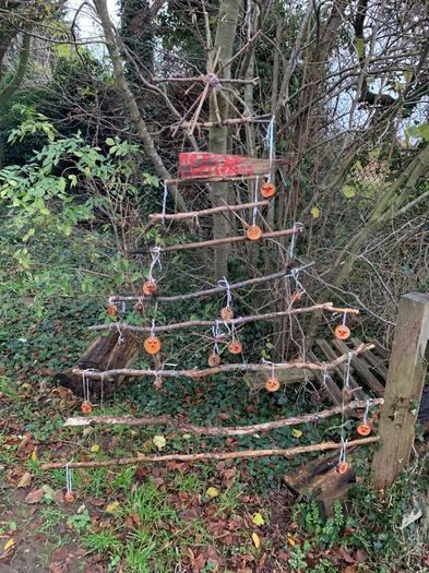 Our handmade Christmas tree