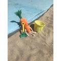 Ooooooo bucket and spade!!
