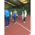 Fencing warm up and prep talk