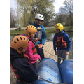 Raft building with Andy