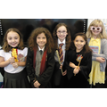 Year 5 dressing up as characters from Harry Potter