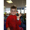 Making finger puppets of our favourite characters