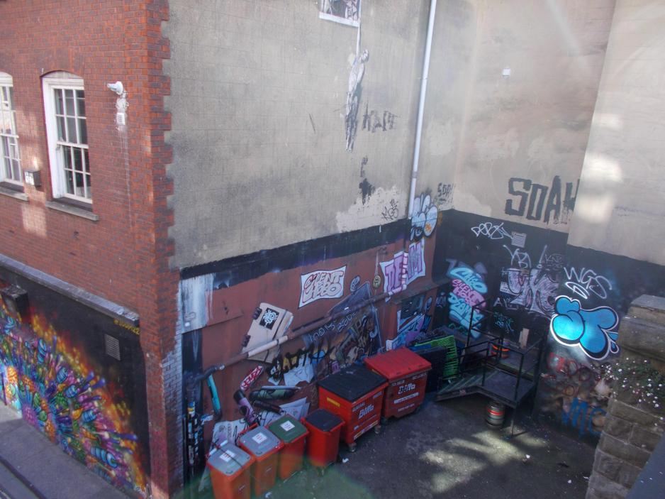 Banksy art in Bristol