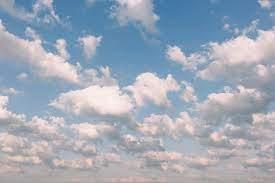 We hope we see some fair weather clouds soon.