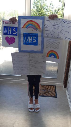 Jasmine's NHS competition entry