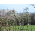 The view from Leeson House to Swanage