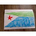 Florence's flag of Djibouti