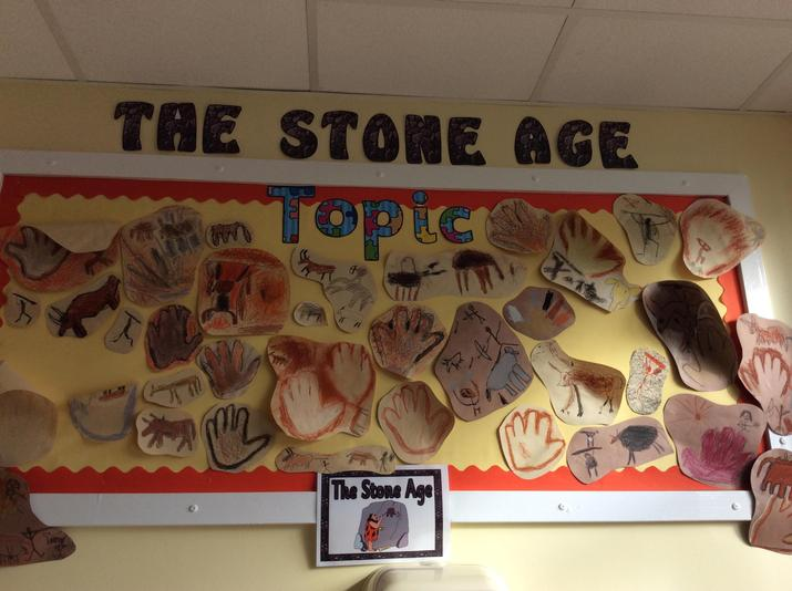 Ospreys' cave paintings