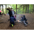 Campfire skills - building our own fires