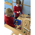 Building our favourite places. This is Buckingham Palace where the guards chan