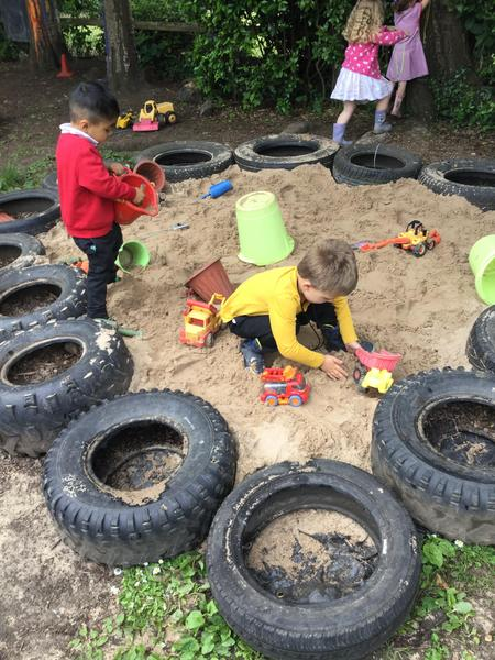 Sand pit!