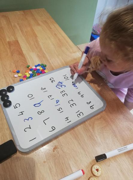 Learning numbers to 100