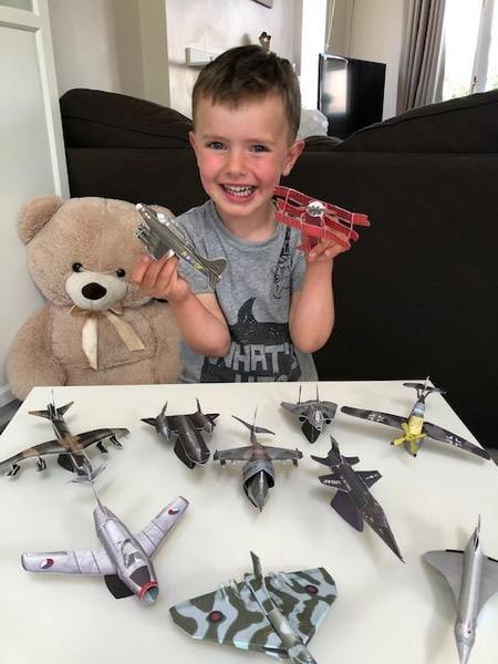 More model aeroplanes!