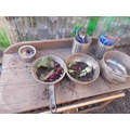 Our mud kitchen recipes.