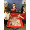 Water - Exploring which items float and sink