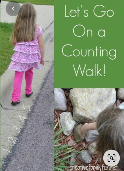 Count everything on a walk!