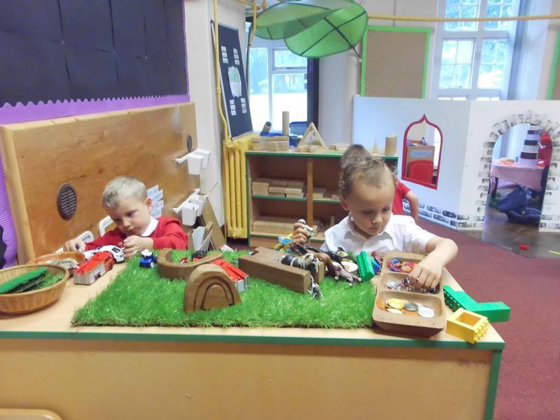 Small World & Construction Area