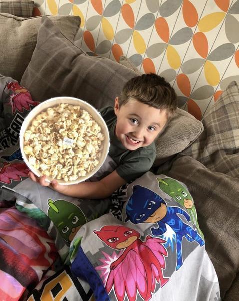 Tasty popcorn yummy 🍿🤗