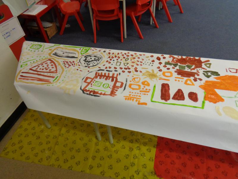 We worked together to create a 'Big Draw'