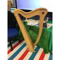 A Celtic Harp